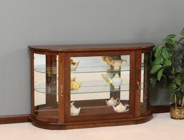 Console Curio Cabinets 6
