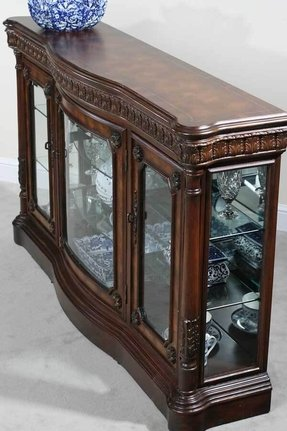 Well-known Console Curio Cabinets - Foter RG21