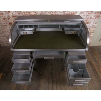 Contemporary roll top desk 2