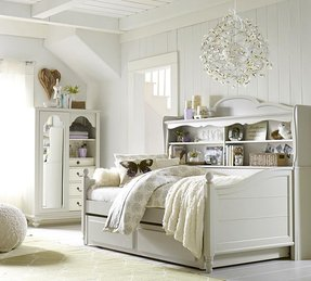 Daybed with bookcase and trundle 1