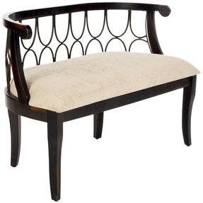 Wondrous Upholstered Dining Bench With Back For 2020 Ideas On Foter Ibusinesslaw Wood Chair Design Ideas Ibusinesslaworg