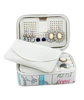 Diy Travel Jewelry Case Chloe Hughesfu 261 Earring Organizer