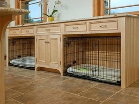 Dog kennel furniture