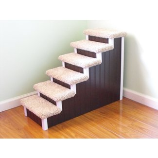 Dog steps pet steps 24 high hand built
