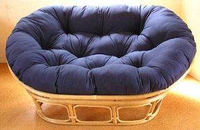 Double papasan cushion extra thick free shipping
