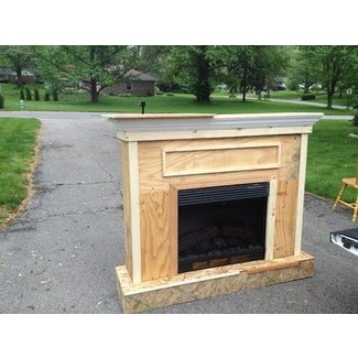 Fantastic Electric Fireplace Mantels Surrounds Ideas On Foter Home Interior And Landscaping Mentranervesignezvosmurscom