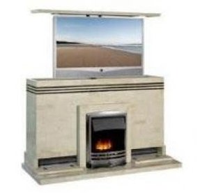 Fireplace tv stands for flat screens 1