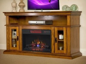 Fireplace tv stands for flat screens 2