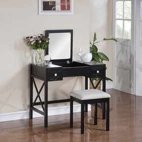 Flip Top Vanity Table Ideas On Foter
