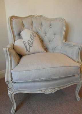 French louis xv arm chair
