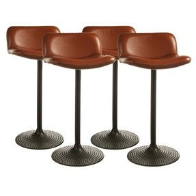 Leather Bar Stools With Backs Ideas On Foter