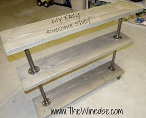 Industrial sofa table 2