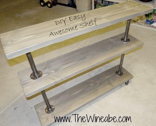 Industrial Sofa Table 2
