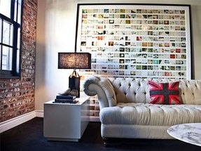 Large picture collage frame