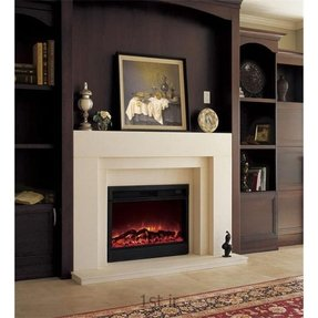 Admirable Electric Fireplace Mantels Surrounds Ideas On Foter Download Free Architecture Designs Rallybritishbridgeorg