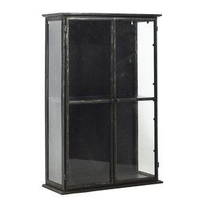 Glass metal curio cabinets foter metal cabinet with glass doors planetlyrics Gallery