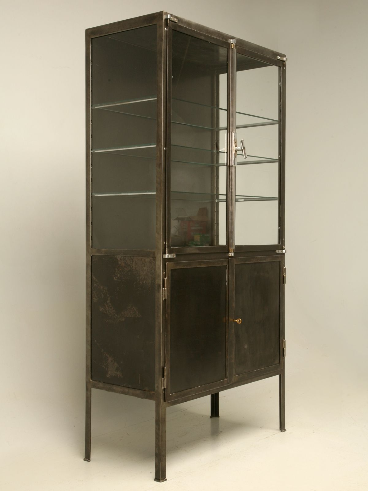 glass metal curio cabinets ideas on foter rh foter com metal and glass upper cabinets metal and glass cabinets