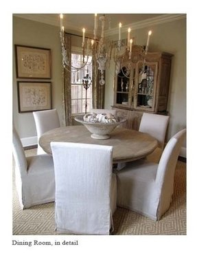 Curved Top Dining Room Chair Covers modern dining chair covers - foter
