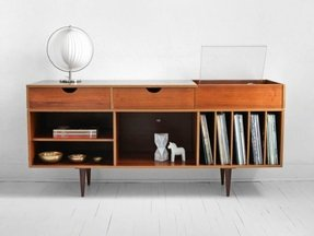 Modern stereo cabinet