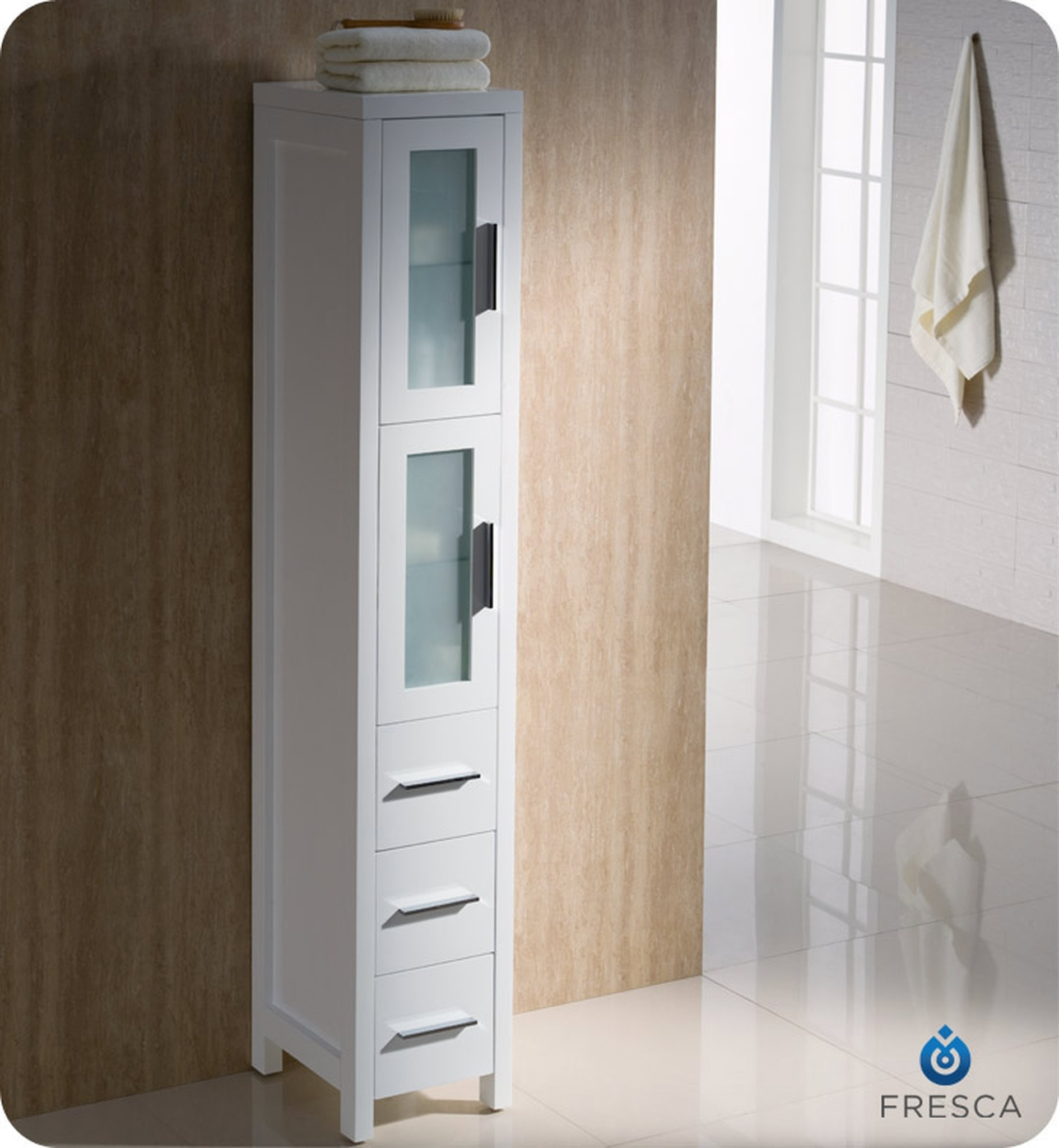 Attrayant Narrow Linen Cabinet