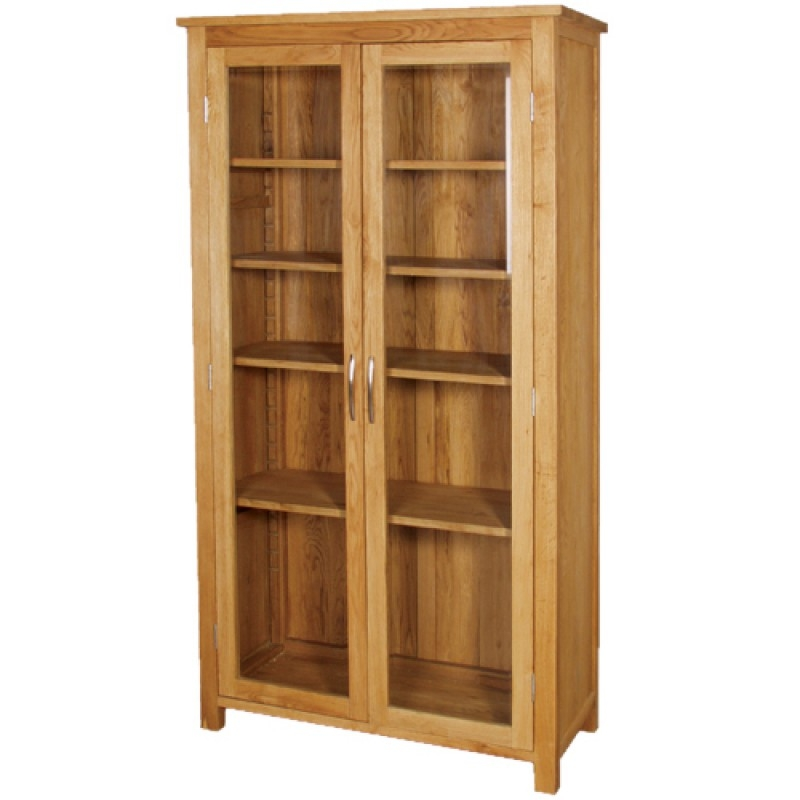 Oak bookcases with doors 14  sc 1 st  Foter & Oak Bookcases With Doors - Foter