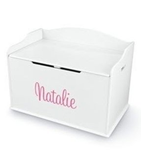 Personalized baby toy chest 2