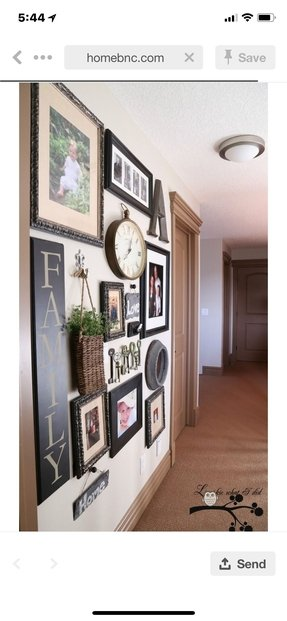 picture frame wall ideas wall hanging collage picture frames foter 4185