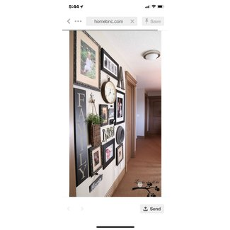 Picture frame collage ideas
