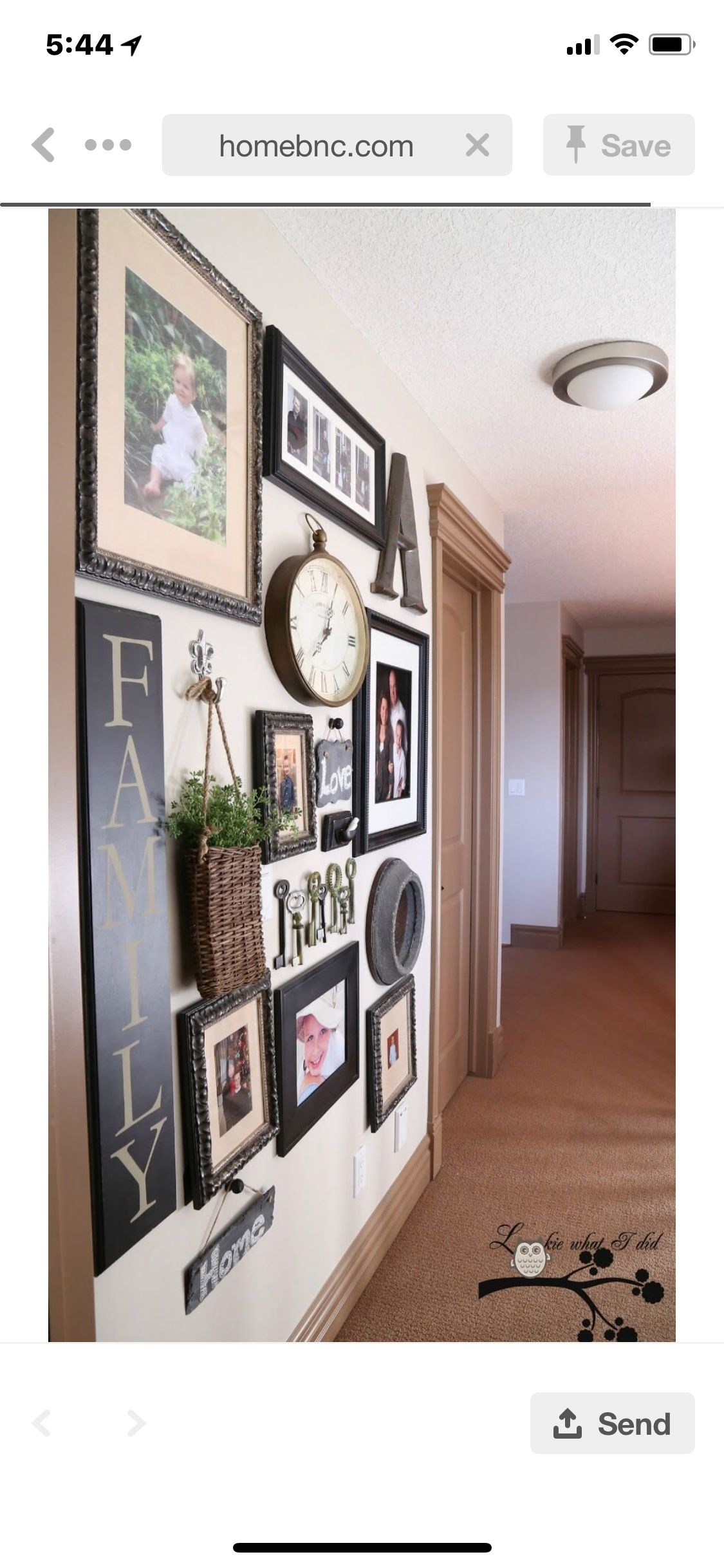 Wall Hanging Collage Picture Frames   Ideas On Foter