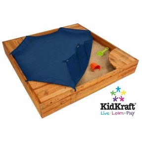 Large Sandbox With Cover Foter