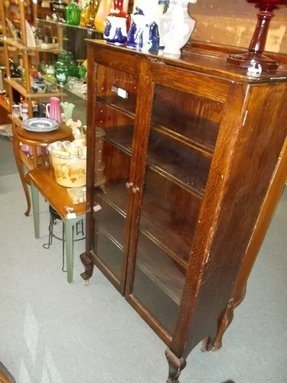 antique glass bookcase bookcases unfinished doors barrister with