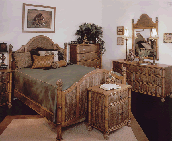 Rattan Bedroom Furniture 4