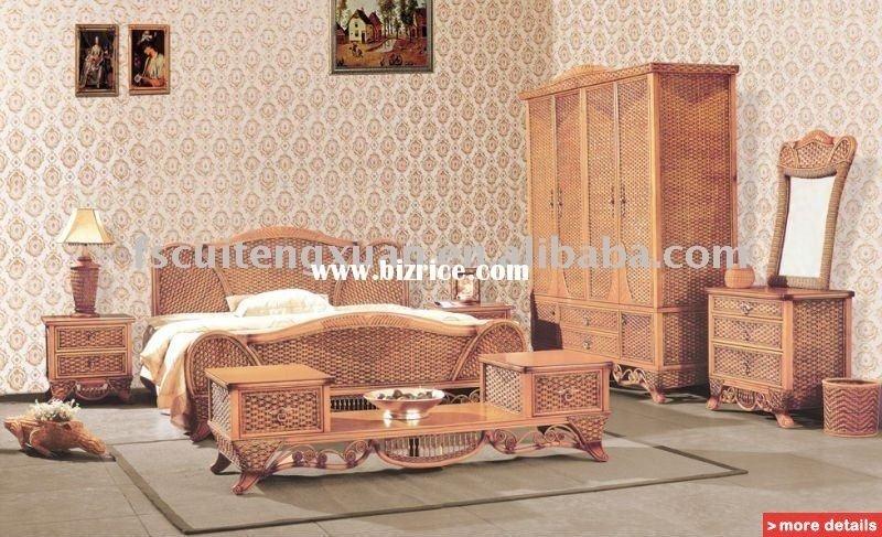Superb Rattan Bedroom Furniture 9