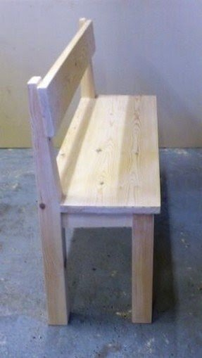 Astounding Rustic Bench With Back Ideas On Foter Machost Co Dining Chair Design Ideas Machostcouk