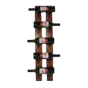 Rustic Wall Mounted Wine Rack Ideas On Foter
