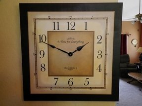 Square wall clocks large