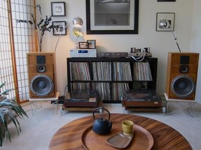 Stereo storage cabinet 1