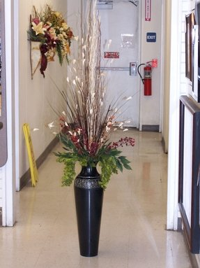 Tall Metal Floor Vases Foter