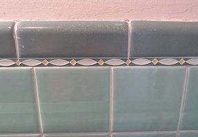 Tile liners for bathroom 33