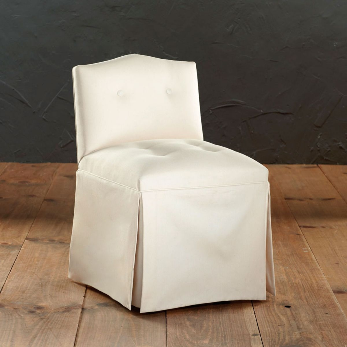 Tufted Vanity Chair
