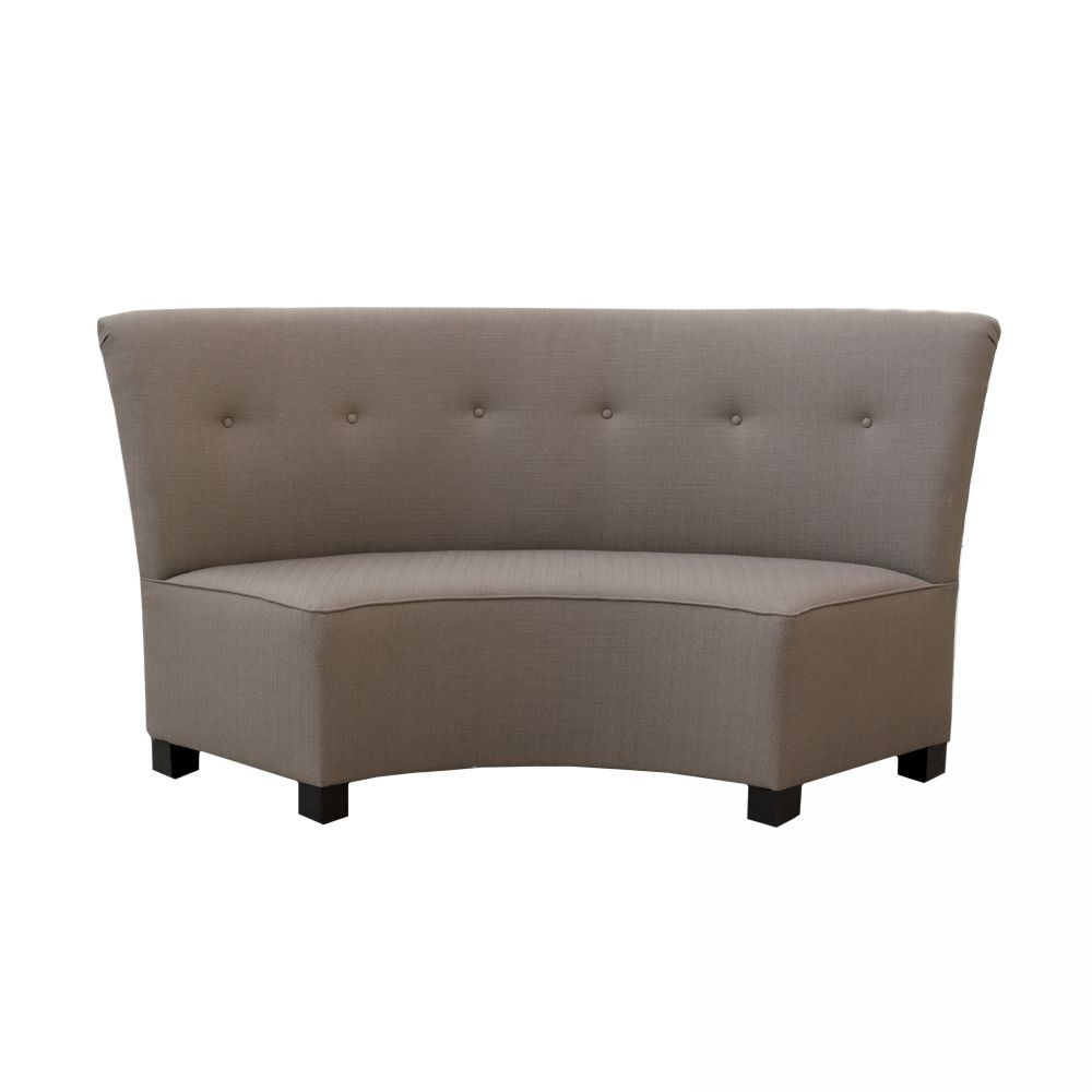 Upholstered Dining Bench With Back   Ideas On Foter