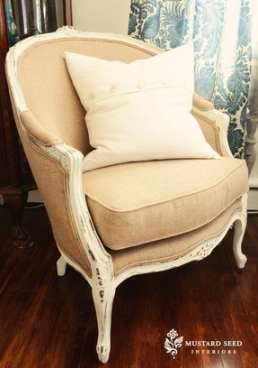 Vintage barrel chairs