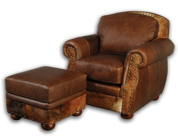 Western Chairs Western Accent Chairs Western Leather Club Chair 42