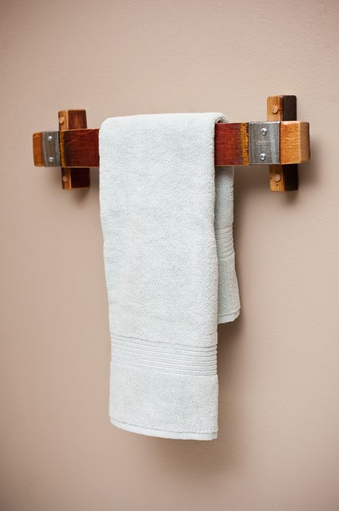 Wood towel bar Wood Metal Wood Towel Bars For Bathrooms Foter Wood Towel Bars For Bathrooms Ideas On Foter