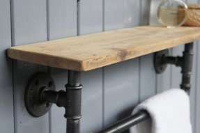 Wood Towel Bars For Bathrooms Foter