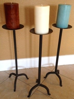Wrought Iron Candlesticks Ideas On Foter