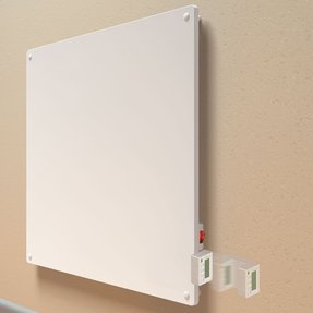 400 Watt Wall Panel Convection Heater with Programmable Thermostat