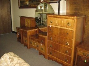 Art Deco Bedroom Set 5