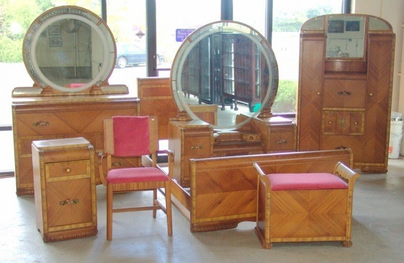 Art deco waterfall furniture