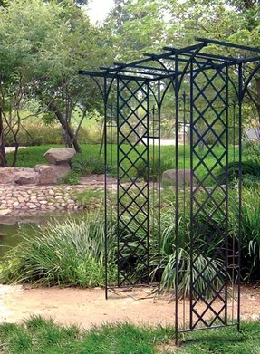Black Metal Trellis Ideas On Foter